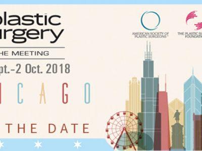Συνέδριο της Αμερικανικής Εταιρίας Πλαστικής Χειρουργικής (ASPS) – 2018